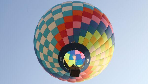 Полет на воздушных шарах. Архивное фото