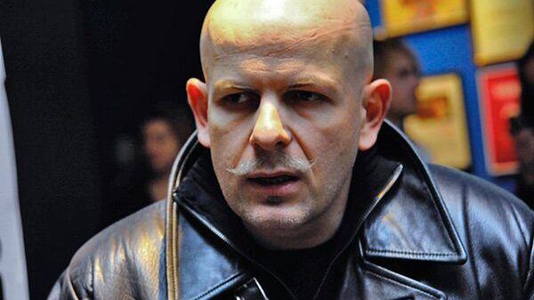 Киевский писатель Олесь Бузина. Архиное фото