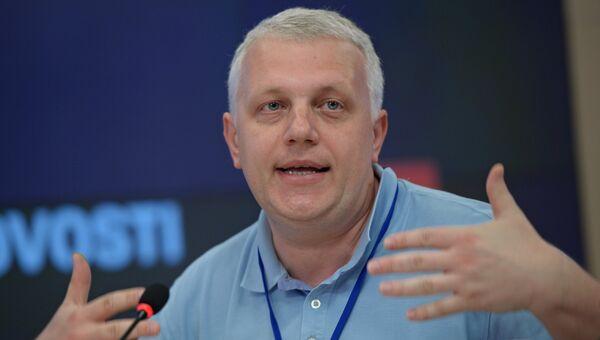 Журналист Павел Шеремет. Архивное фото