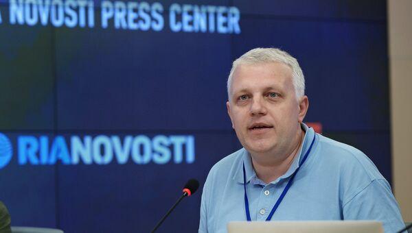 Журналист Павел Шеремет на Международном форуме Медиа Будущего