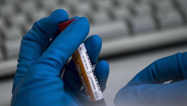 Лаборатория по тестированию на допинг. Архивное фото