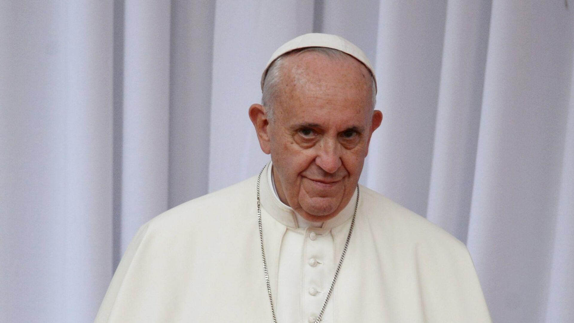 Папа Франциск - РИА Новости, 1920, 13.01.2021