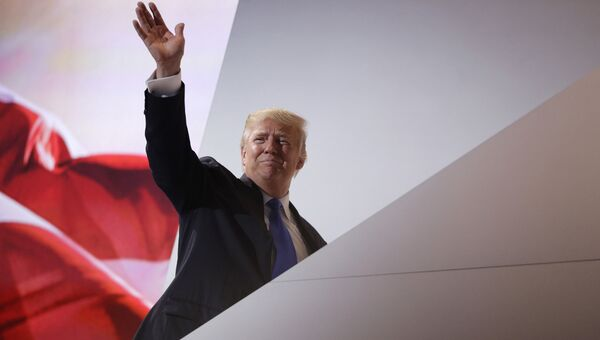 Кандидат в президенты США от Республиканской партии Дональд Трамп. Архивное фото