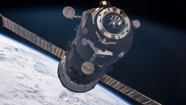 Российский корабль Прогресс-62Р на МКС