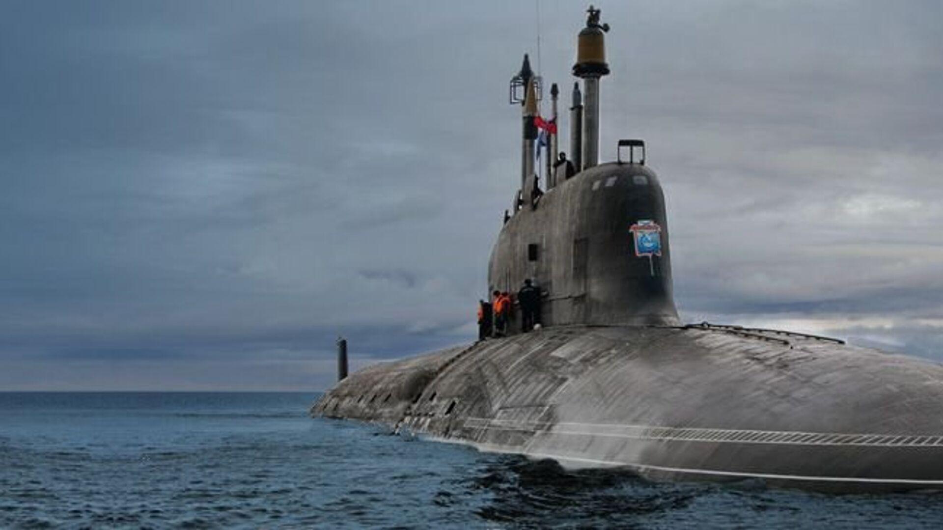 Атомная подводная лодка проекта 885 Ясень - РИА Новости, 1920, 24.03.2021
