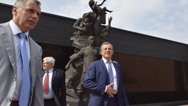 Глава делегации французских парламентариев, прибывшей с визитом в Симферополь