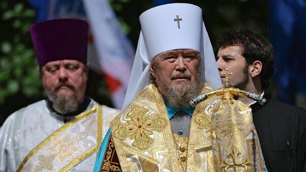 Митрополит Симферопольский и Крымский Лазарь. Архивное фото
