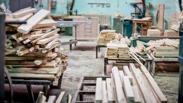 Предприятие по переработке древесины