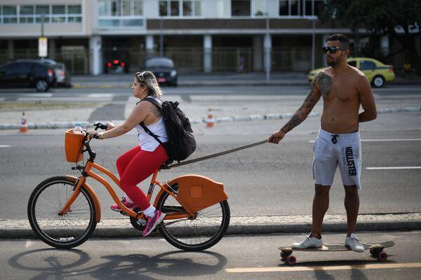 Отдыхающие в Рио-де-Жанейро, Бразилия