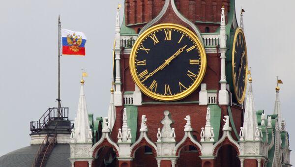 Спасская башня. Архивное фото