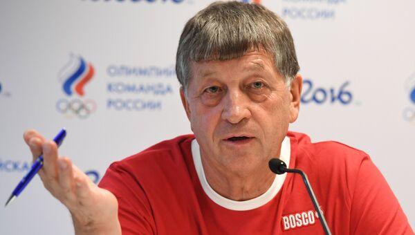 Глава олимпийской делегации сборной России Игорь Казиков. Архивное фото