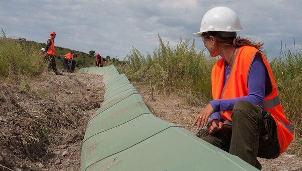 Подготовка к строительству Турецкого потока. Архивное фото
