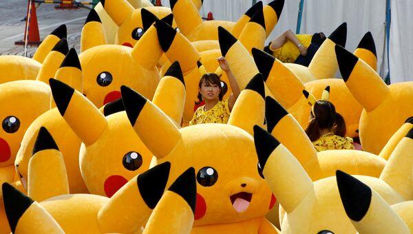 Парад покемонов. Архивное фото