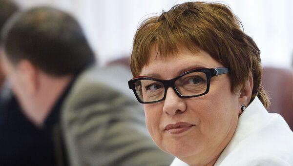 Президент ФК Локомотив Ольга Смородская. Архивное фото