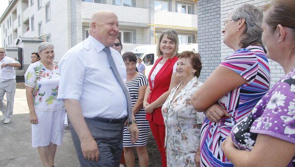 Валерий Шанцев в Шатковском районе Нижегородской области