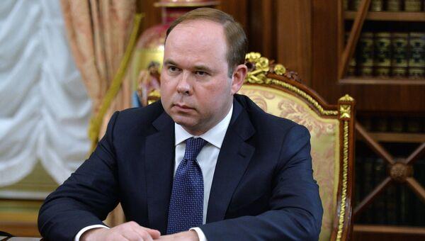 Руководитель администрации президента Антон Вайно