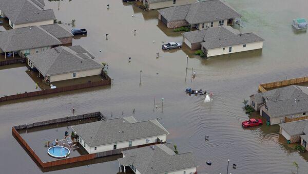 Затопленные дома в США. Архивное фото