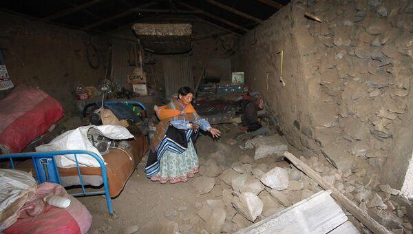 Последствия землетрясения в Перу