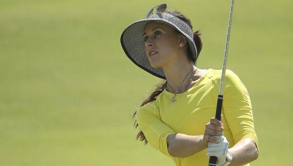 Российская гольфистка Мария Верченова.