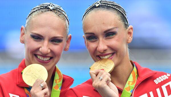 Олимпиада 2016. Синхронное плавание. Произвольная программа. Финал