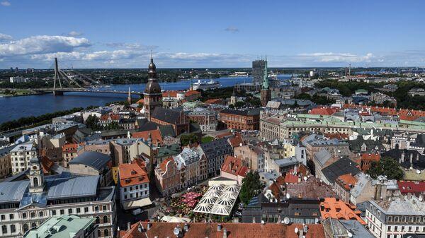 Центральная часть города Рига, Латвия