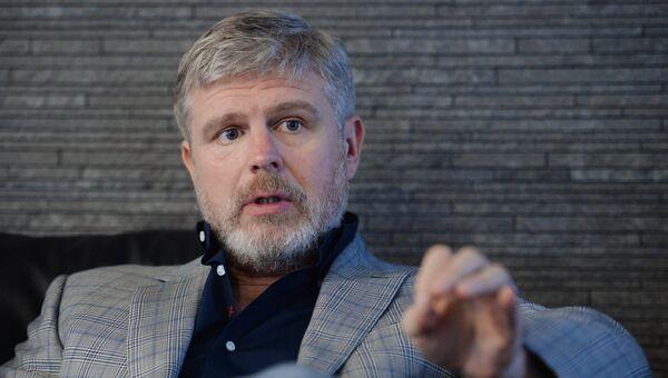 Президент промоутерской компании Мир Бокса Андрей Рябинский. Архив