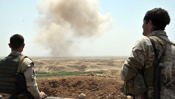 Бойцы курдских вооруженных сил. Архивное фото