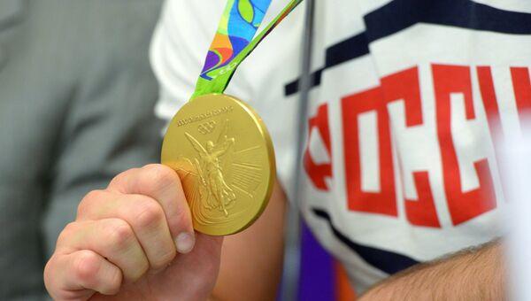 Олимпийский чемпион Рио-2016 по вольной борьбе Сослан Рамонов. Архивное фото