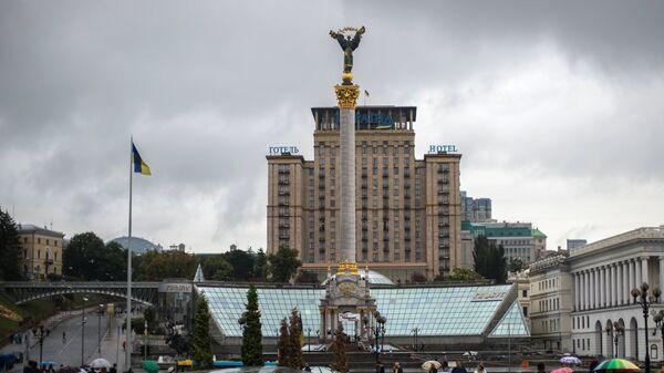 Монумент Независимости Украины на площади Независимости в Киеве. Архивное фото