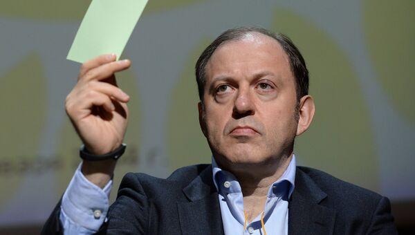 Председатель Центрального Совета партии Альянс зеленых - Народная партия Олег Митволь. Архивное фото