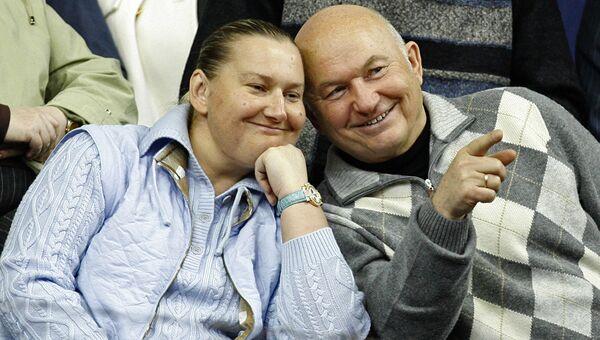 Елена Батурина и Юрий Лужков. Архивное фото