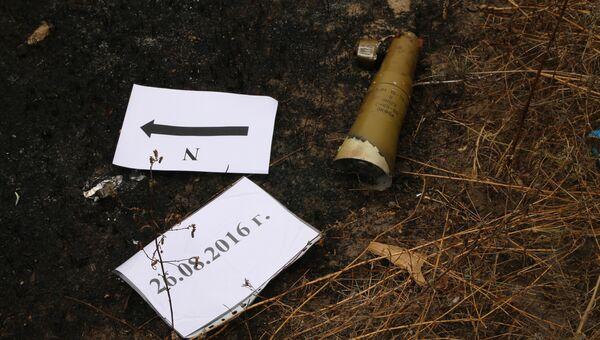Неразорвавшиеся снаряды. Архивное фото