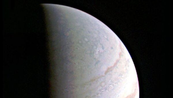 Пока самая четкая фотография Юпитера, полученная зондом Juno