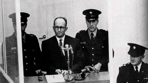 Суд над Адольфом Эйхманом в Израиле. 1961 год