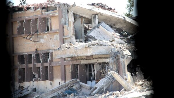 Ситуация на юге Алеппо. Архивное фото