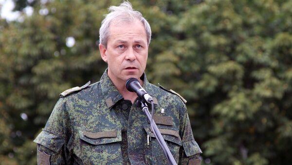 Заместитель командующего оперативным командованием ДНР Эдуард Басурин. Архивное фото