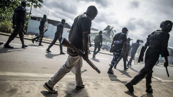 Полиция Габона