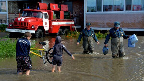 Последствия циклона в Уссурийске. Архивное фото