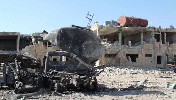 Сиутация в Сирии. Архивное фото