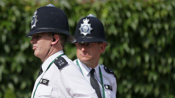 Сотрудники полиции Лондона