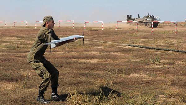 СКШУ Кавказ-2016 на полигоне Прудбой в Волгоградской области. Архивное фото