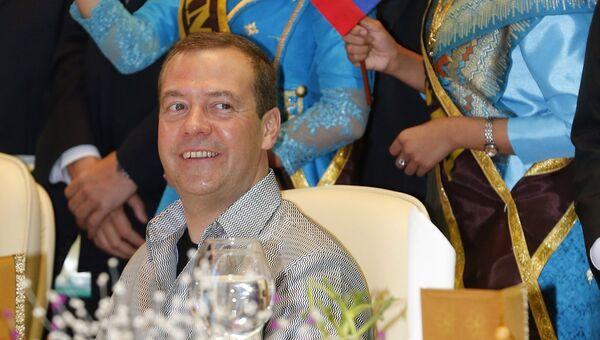 Председатель правительства РФ Дмитрий Медведев на 11-м Восточноазиатском саммите (ВАС)