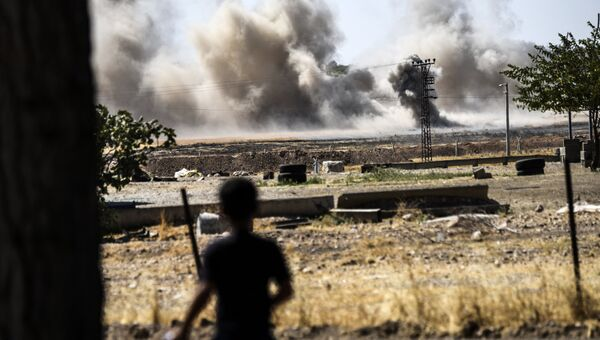 Обстрелы в Сирии. Архивное фото