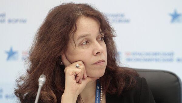 Член СПЧ Елена Тополева-Солдунова. Архивное фото