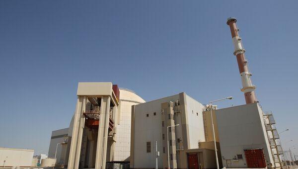 Первый энергоблок атомной электростанции Бушер в Иране. Архивное фото