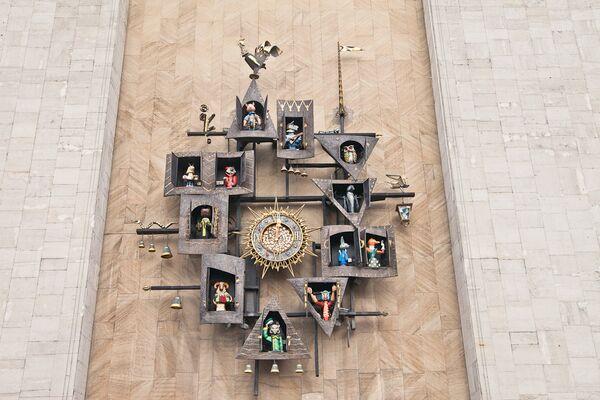 театр образцова фото часов открытка днем