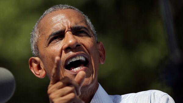 Президент США Барак Обама.Архивное фото