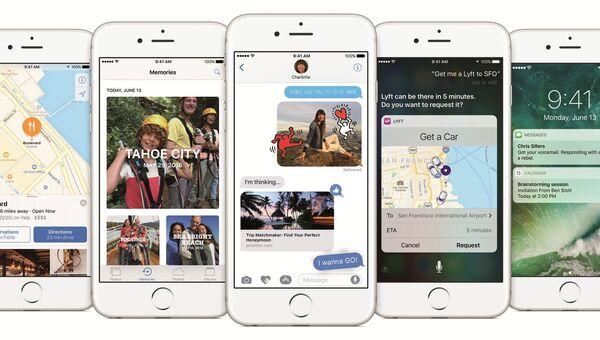 Интерфейс и приложения Apple iOS 10