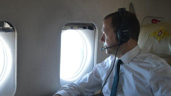 Дмитрий Медведев во время рабочей поездки в Южный федеральный округ. 15 сентября 2016