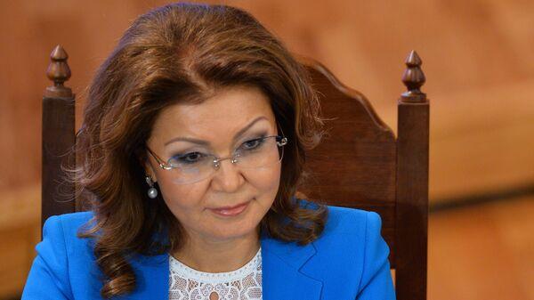 Спикер сената парламента Казахстана Дарига Назарбаева